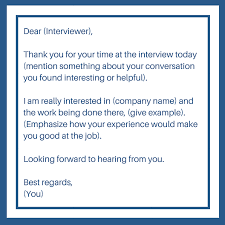 how to follow up after a job interview office parrots jobs the follow up email acts as a thank you note to the interviewer for the opportunity they have given you it s best to follow up in a day or two of the