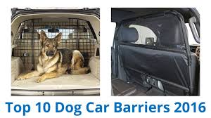 10 Best <b>Dog</b> Car Barriers 2016 - YouTube