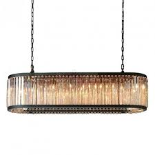 rh welles crystal rectangular chandelier design