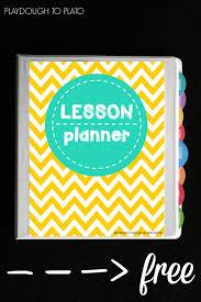 Free Teacher Planner Teacher Lesson Planner Teacher