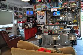 Charming Interior Man Cave Small Room Ideas Mount Wall Clear Glass Jar  Brownlear Backrest Bar Stools