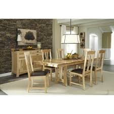 Shop Simply <b>Solid</b> Amphora <b>Solid</b> Wood <b>9</b>-<b>piece</b> Dining Collection ...
