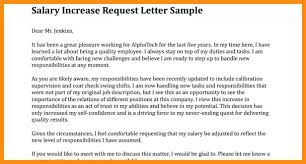 Raise Request Letter Template 9 10 Salary Increment Letter Samples Elainegalindo Com