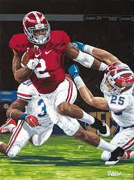 109 yards a touchdown and a win in the 2016 iron bowl 34