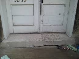 front door thresholdNeed Advice About Entrance Concrete Door Sill  Concrete Stone