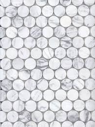 Academy Tiles - Stone Mosaic - Stone Penny Rounds - 73700