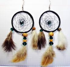 How To Make Dream Catcher Earrings How to make dreamcatcher earrings DIY is FUN 2