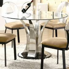 outdoor fascinating round glass dining table and chairs 34 set luxury top ikea line of