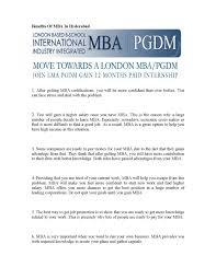 Best Jobs For Mba