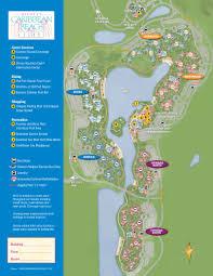 caribbean beach resort guide map  photo  of