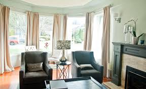 bay window living room. Interesting Bay Window Curtains For Living Room Designs N