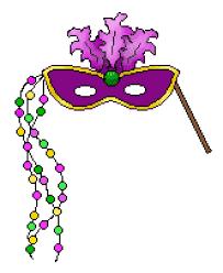 Image result for clip art mardi gras