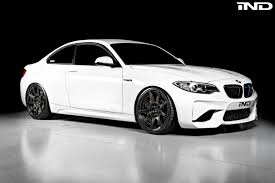white bmw with black rims.  Black BMW M2 Upgraded With Carbon Fiber Wheels 4 750x500 And White Bmw Black Rims