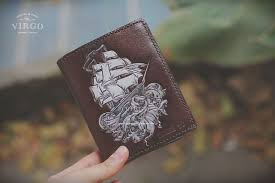 leather wallet from virgo handmade leather hanoi vietnam leather