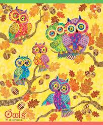 <b>Альт Тетрадь</b> Сказочные совы яркие 48 листов в клетку. Купить ...