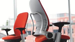 cool ergonomic office desk chair. Steelcase Leap Fabric Chair Cool Ergonomic Office Desk Chair