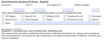 marriott credit card authorization form template pdf marriot credit card authorization form rate information and