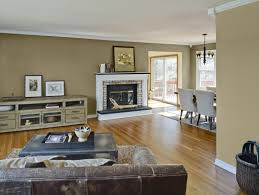 Of Painted Living Rooms Living Room Color Scheme That Combine White And Brown Beautify