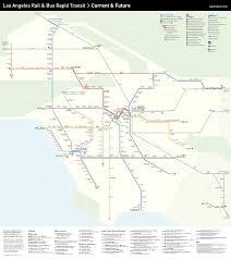 mapping the future of la transit  urbanize la