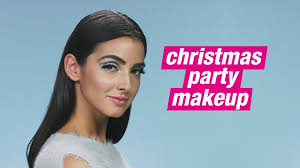 christmas party makeup ideas sequined dress purchased sparkle eyeshadow
