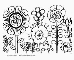 Small Picture Flower Coloring Pages Fancy Free Coloring Pages Flowers Coloring