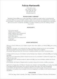Medical Billing Resume Objective Elegant Job Resume Objectives