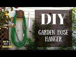 garden hose hanger from s wood
