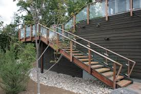 metal stairs exterior prefabricated stair and ladder systems