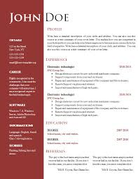 word resume template     wordscrawl com  each one of these   creative cv templates in word  doc