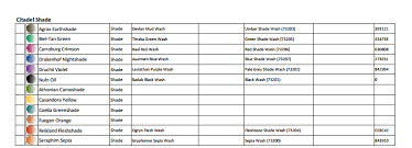 Games Workshop Paint Chart Vallejo To Gw Paint Conversion Chart Pdf Spikey Bits