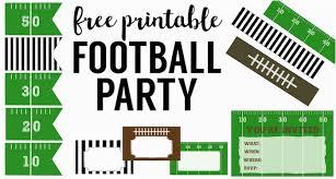 Free Football Invitation Templates Free Printable Football Invitations For Birthday Party