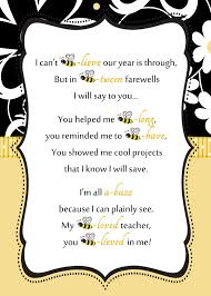 Bee Teacher Letter By Reneessoirees Gift Ideas Pinterest