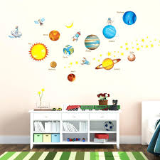 spaceship wall decals planets in the space wall stickers planets in the space  wall stickers wall .