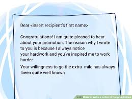 Another Word For Congratulations 3 Ways To Write A Letter Of Congratulations Wikihow