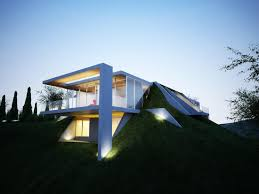 cost of building an underground house houses architecture home decor  zerocarbon in england builders partially plans ...