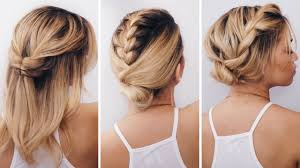 Hairstyles Easy Hairstyles For Medium Hair Latest Cute Easy Party