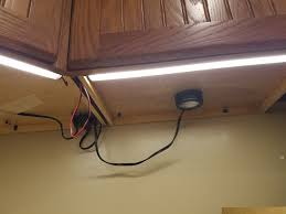 Ge Under Cabinet Microwave Under Cabinet Lighting Project Has Gotten Out Of Hand Wife Is