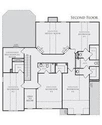 crown communities floor plans. Unique Floor William II Plan At Hampton Oaks In Fairburn Georgia 30213 By Crown  Communities Intended Floor Plans N