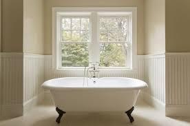 clawfoot bathtub in custom designed bathroom