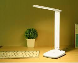 Chỉ 450,000đ - Đèn LED học sinh chống cận - đèn bàn học - đèn bàn làm việc  - đèn học cảm biến nhiều chế độ ánh sáng phù hợp với mắ