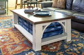 diy coffee table with storage coffee table tutorial diy coffee table