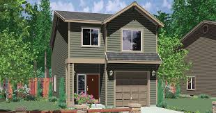 top small house plans for narrow lots