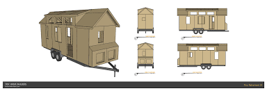 a single level traditional style tiny house design