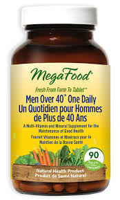 MegaFood <b>Men Over 40 One</b> Daily 90 Tablets - With Free Shipping ...