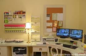 organize home office desk. Pottery Barn Bedford Home Office Addition Organize Desk E