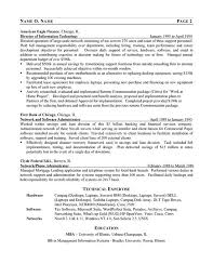 IT Consultant Resume Ex Network Manager Management Consulting