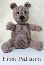 Easy Crochet Teddy Bear Pattern Awesome Inspiration