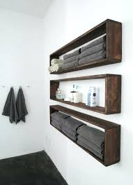 bathroom wall shelves rectangular for storage towels bathroom wall shelves