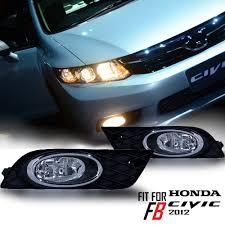 Fog Light Design Details About For New Honda Civic Fb 2012 2013 14 15 Fog Lamp Spot Light Front Chrome Complete