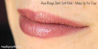 aqua rouge satin soft pink midnight glow holiday de make up for ever